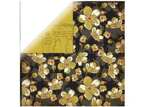 Designer Papier Scrapbooking: 30,5 x 30,5 cm Papier 1 arc designer paper, In the Attic - Books