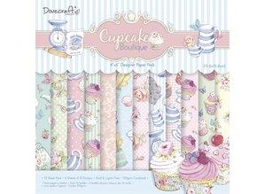DESIGNER BLÖCKE  / DESIGNER PAPER Designer Block, Cupcake Boutique, 72 ark