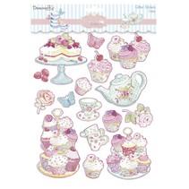 Glitter Sticker, Cupcake Boutique Cakes