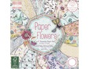 DESIGNER BLÖCKE  / DESIGNER PAPER Designerblock, Flowers, 64 Blatt
