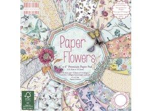 DESIGNER BLÖCKE  / DESIGNER PAPER Designer Block, Flowers, 64 pages