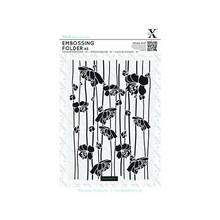 X-Cut / Docrafts A5 Embossing Folder - Flor de rayas