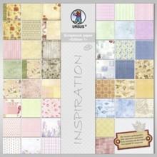 Designer Papier Scrapbooking: 30,5 x 30,5 cm Papier Designer Block, Inspiration Edition 1