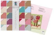 "Designer Papier Scrapbooking: 30,5 x 30,5 cm Papier Designer Block, Inspiration ""Lotta"""