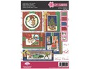 PERGAMENT TECHNIK / PARCHMENT ART Pergamena Set: 5 per cartoline di Natale