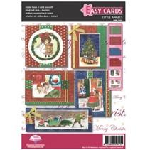 Pergament Set: für 5 Weihnachtskarten