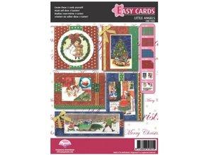 PERGAMENT TECHNIK / PARCHMENT ART Parchment Set: 5 for Christmas cards