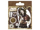 Stempel / Stamp: Transparent Sellos transparentes, Santoro Willow