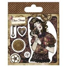Stempel / Stamp: Transparent Gennemsigtige frimærker, Santoro Willow