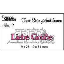 BARGAIN PRICE, German text stamping and embossing stencil