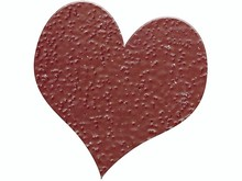 FARBE / INK / CHALKS ... Embossing Powder 10g glitter ruby ​​red