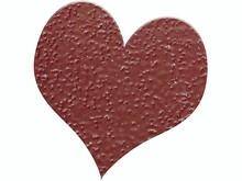 FARBE / INK / CHALKS ... Prægning Pulver 10g glitter rubinrød