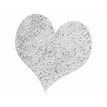 Prægning Pulver 10g sølv glitter