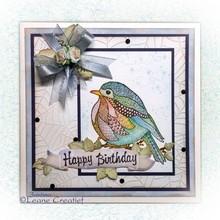 Leane Creatief - Lea'bilities Gennemsigtige frimærker, Doodle Bird