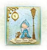 Leane Creatief - Lea'bilities Klare stempler, Twinkle stjerne