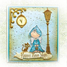 Leane Creatief - Lea'bilities Clear stamps, Twinkle Star