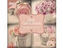 Joy!Crafts und JM Creation Bloque diseñador, floral con motivos de rosas