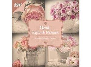 Joy!Crafts und JM Creation Designerblock, Floral mit Rosenmotive