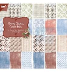 Joy!Crafts und JM Creation Designerblock, Berry Sweet