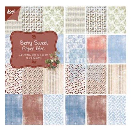 Joy!Crafts und JM Creation Designer Block, Berry Søde