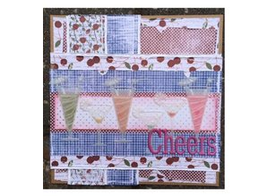 Joy!Crafts und JM Creation Diseñador Block, Berry dulce