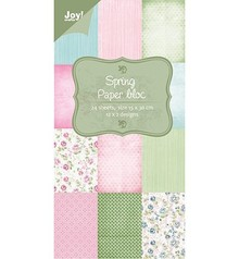 Joy!Crafts und JM Creation Designer Block, Spring