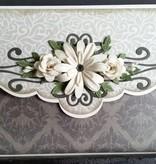 Creative Expressions Stanz- und Prägeschablone, Blumen