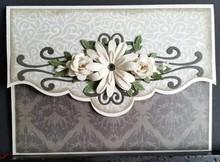 Creative Expressions Stampaggio e goffratura stencil, fiori