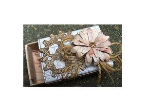 Creative Expressions Estampación y embutición de la plantilla, flores
