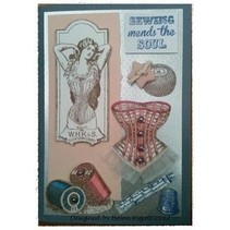 Stempel A5: Sewing mends the soul, 200x140mm