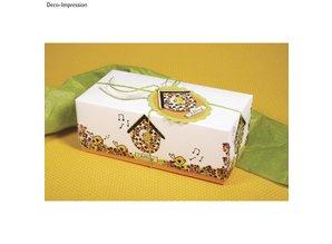 Spellbinders und Rayher Special Price! Mini wooden stamp set Birds