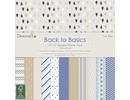 Designer Papier Scrapbooking: 30,5 x 30,5 cm Papier Bloque diseñador, True Blue