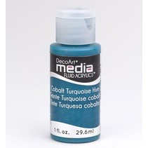 DecoArt medier væske akryl, Cobalt Turquoise Hue