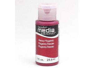 FARBE / INK / CHALKS ... DecoArt media fluid acrylics, Primary Magenta