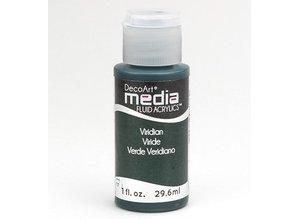 FARBE / INK / CHALKS ... Decoart acrílicos fluidos de comunicación, Viridian Verde Hue