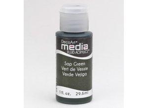 FARBE / INK / CHALKS ... Decoart acrílicos fluidos medios, Sap Verde