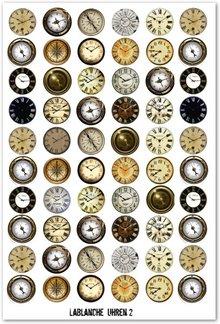 BILDER / PICTURES: Studio Light, Staf Wesenbeek, Willem Haenraets Stanzbogen mit Uhren