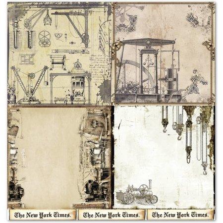 """Designer Papier Scrapbooking: 30,5 x 30,5 cm Papier Papel de diseño """"Antecedentes"""" 3"""