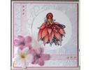 Crafter's Companion A6 Frou Frou Unmounted Timbro Set Designer - sfarzo e glamour