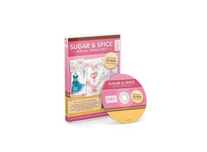 Crafter's Companion Sugar & Spice Papercrafting CD-ROM Collection