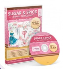 Crafter's Companion Sugar & Spice Papercrafting cd-rom-samling
