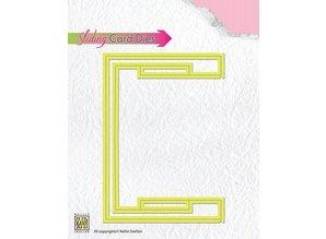 Nellie snellen Punching and embossing templates: Sliding cards / BASIC Slider Part