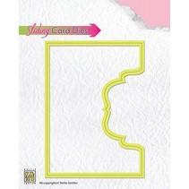 Corte y estampado en relieve plantillas: Desplazamiento tarjetas / tarjeta deslizante Esta parte superior ornamental-2