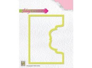 Nellie snellen Skæring og prægning stencils: Glidende kort / Sliding Card Denne øverste del ornamental-2