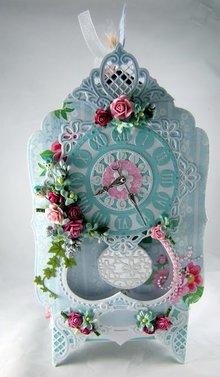 Marianne Design Marianne Design, stampaggio e goffratura stencil, craftabili - orologio craftabili
