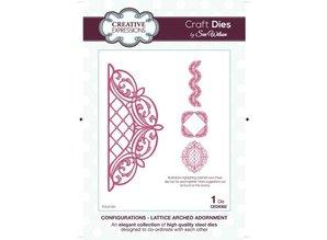 Creative Expressions Punzonatura e modello di goffratura, Lattice Arco Ornamento