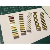 Metallic Folie silber und gold, einfach und schnell!