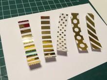 BASTELZUBEHÖR / CRAFT ACCESSORIES Metalfolie sølv og guld