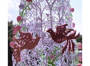 Marianne Design Stempling og prægning stencil, fugl