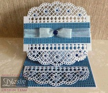 Die'sire NEW: punching and embossing template Diesire: doily Lattice